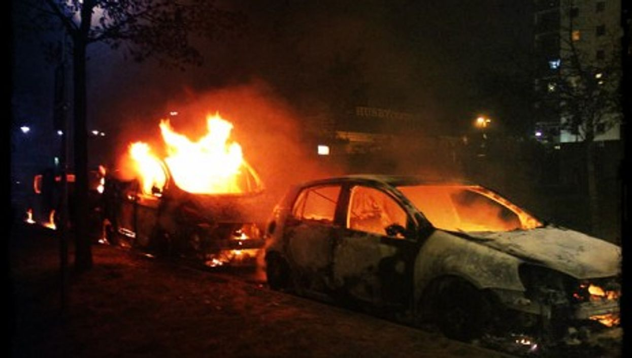 Second day of riots in the Stockholm suburb of Husby