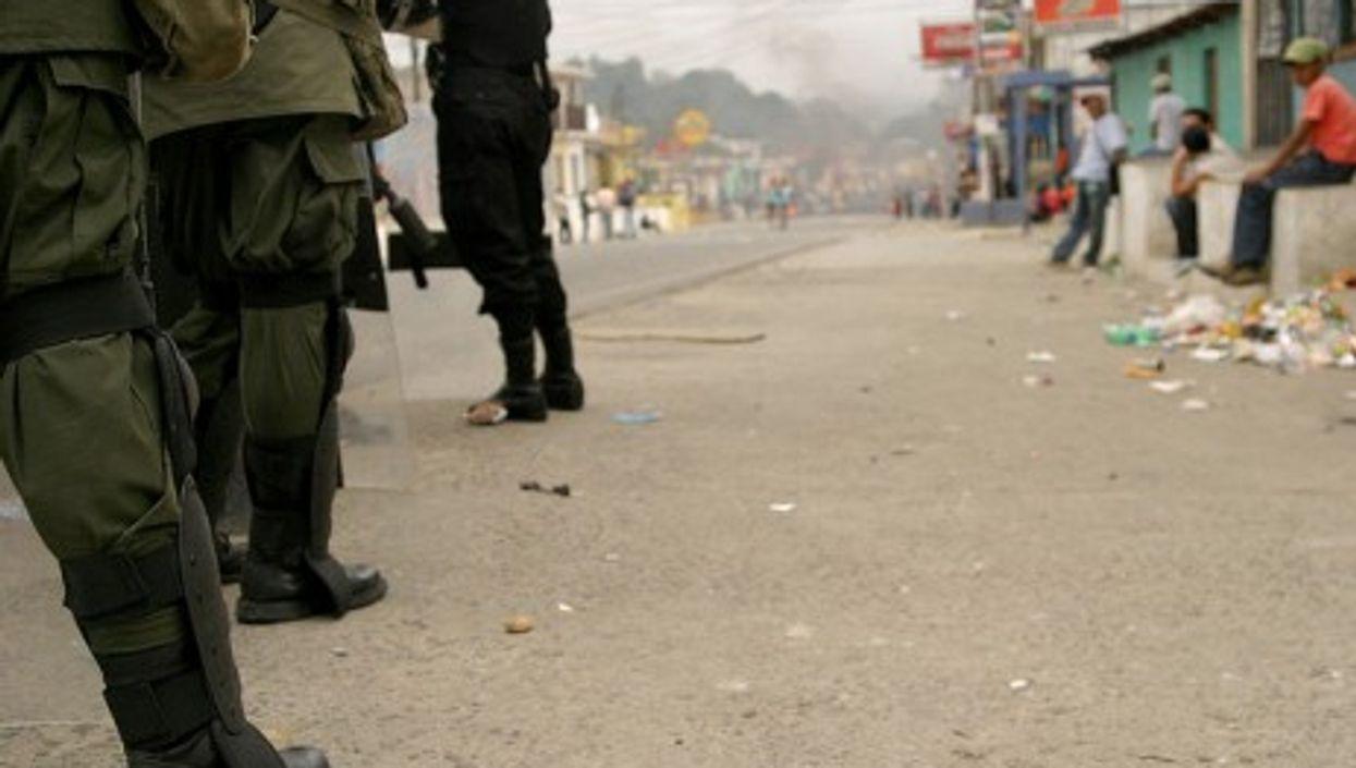 Security forces in Guatemala (Surizar)