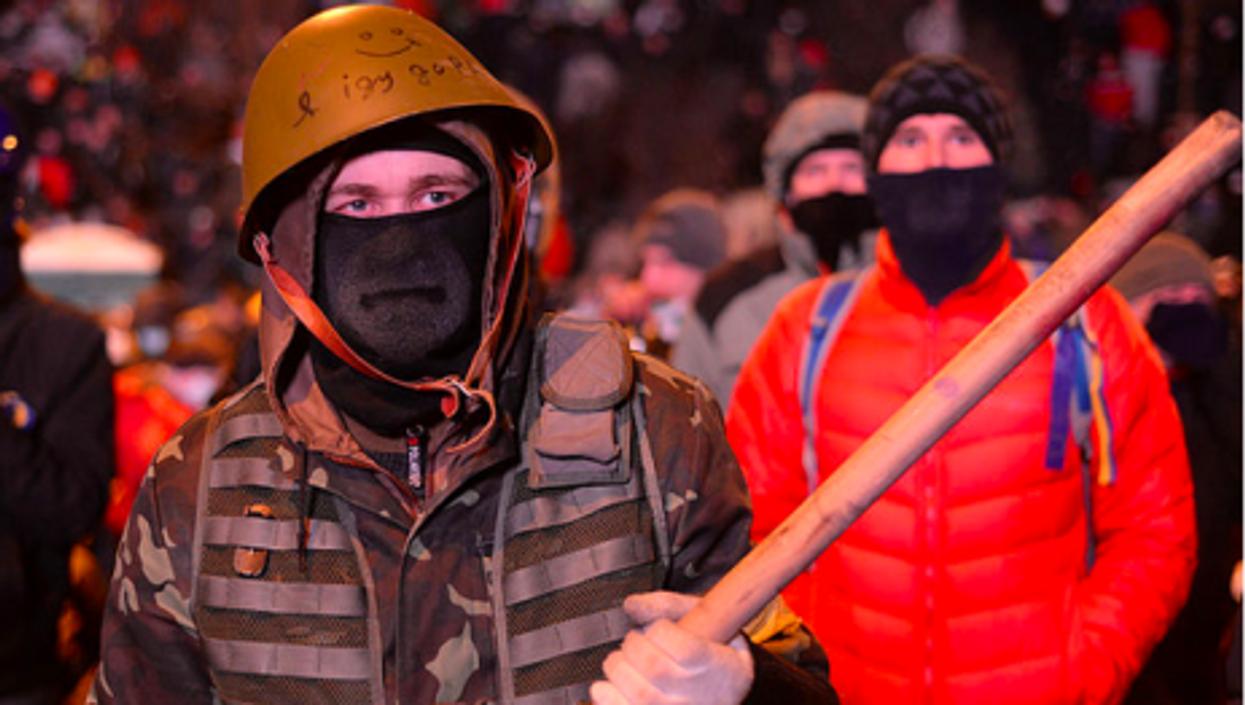Self-defense on the Maidan