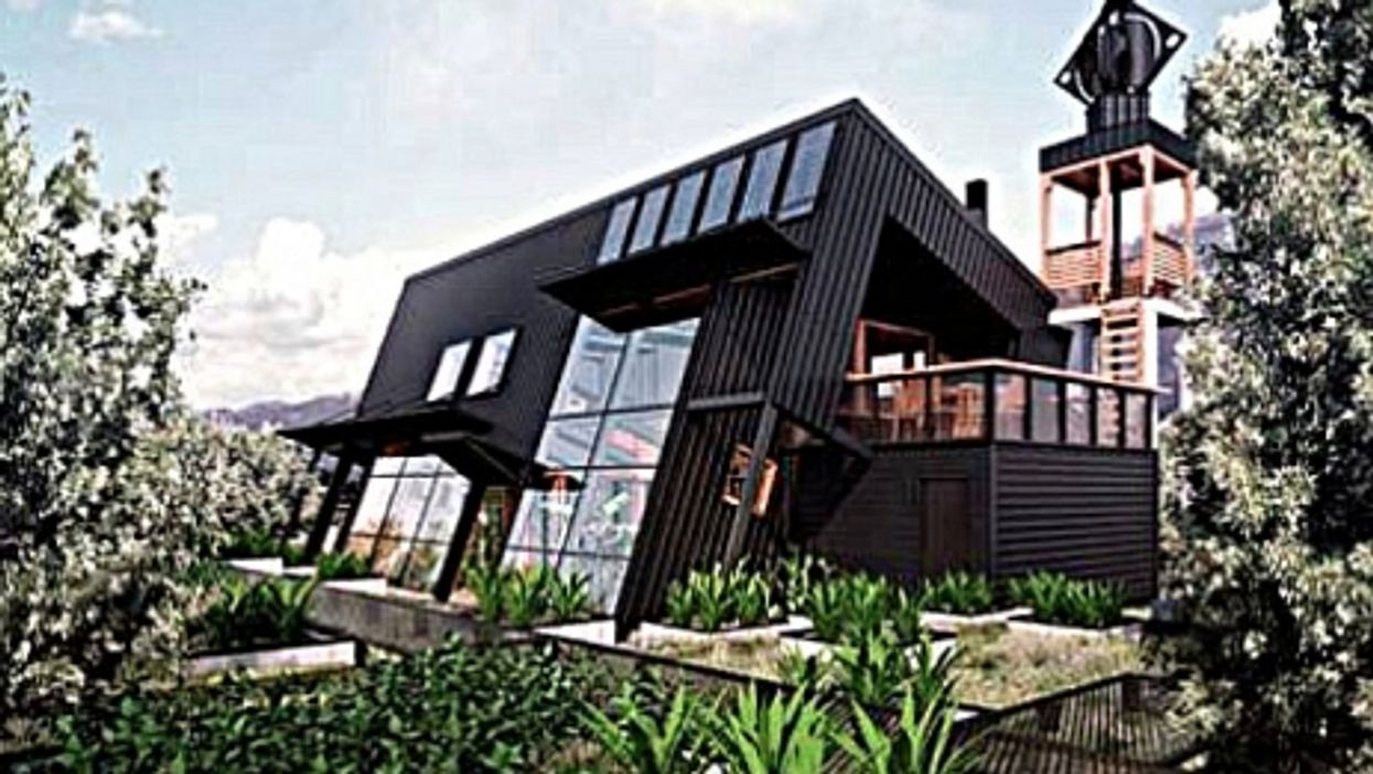 Self-sustaining country home designed by architect Germán Spahr