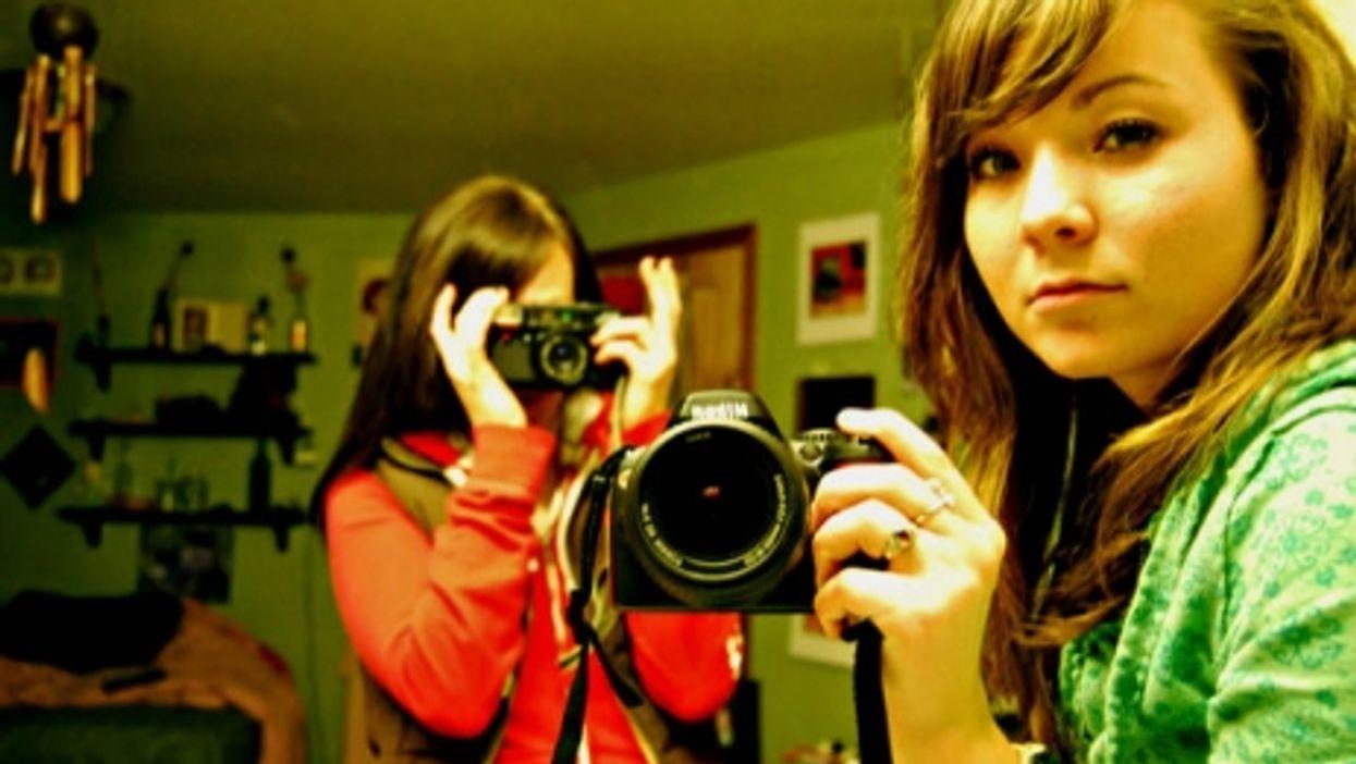 Selfies, side-by-side