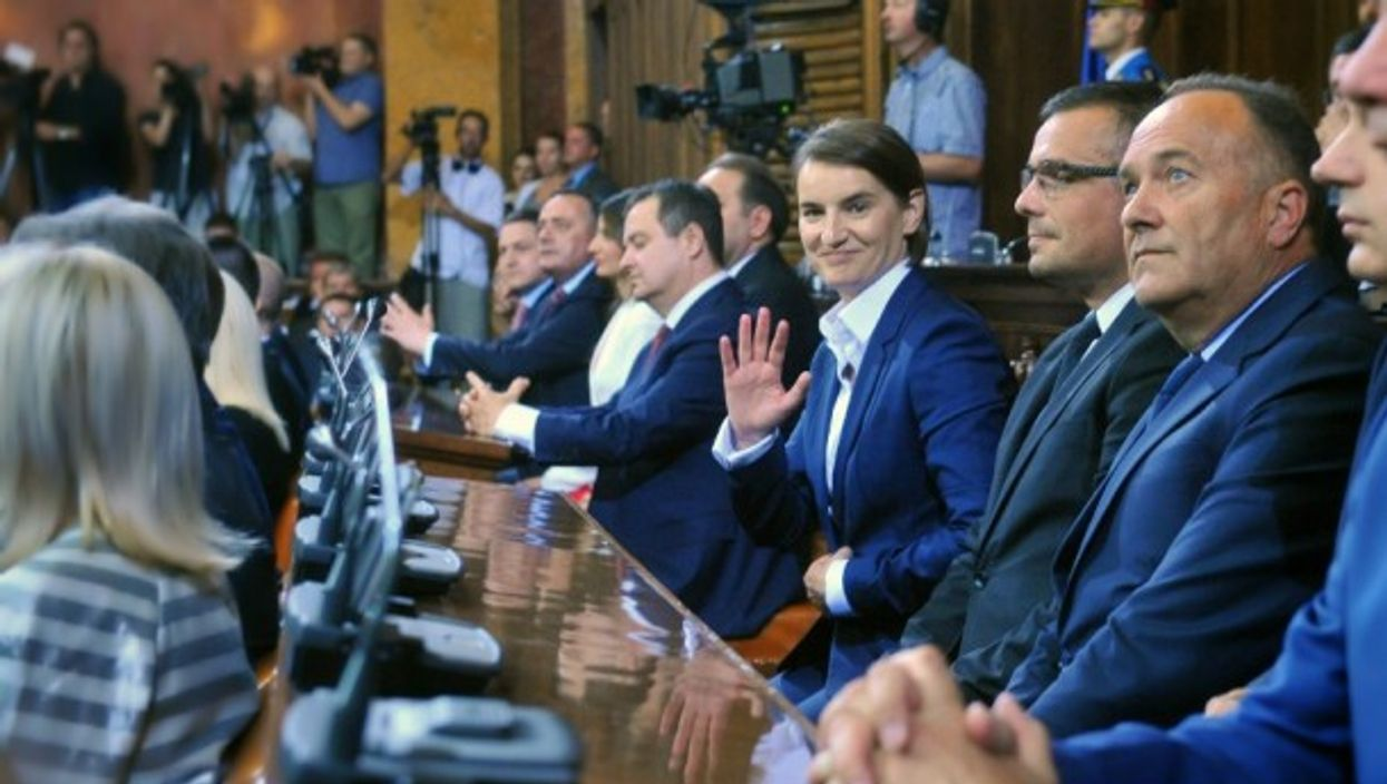 Serbian PM Ana Brnabic became the world's 5th openly gay PM