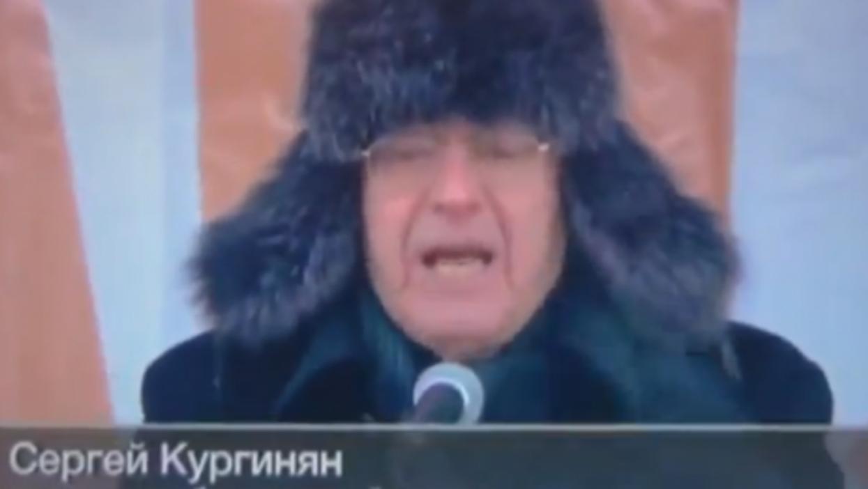 Sergey Kurginyan's fiery pro-Putin speech got good air time (youtube)