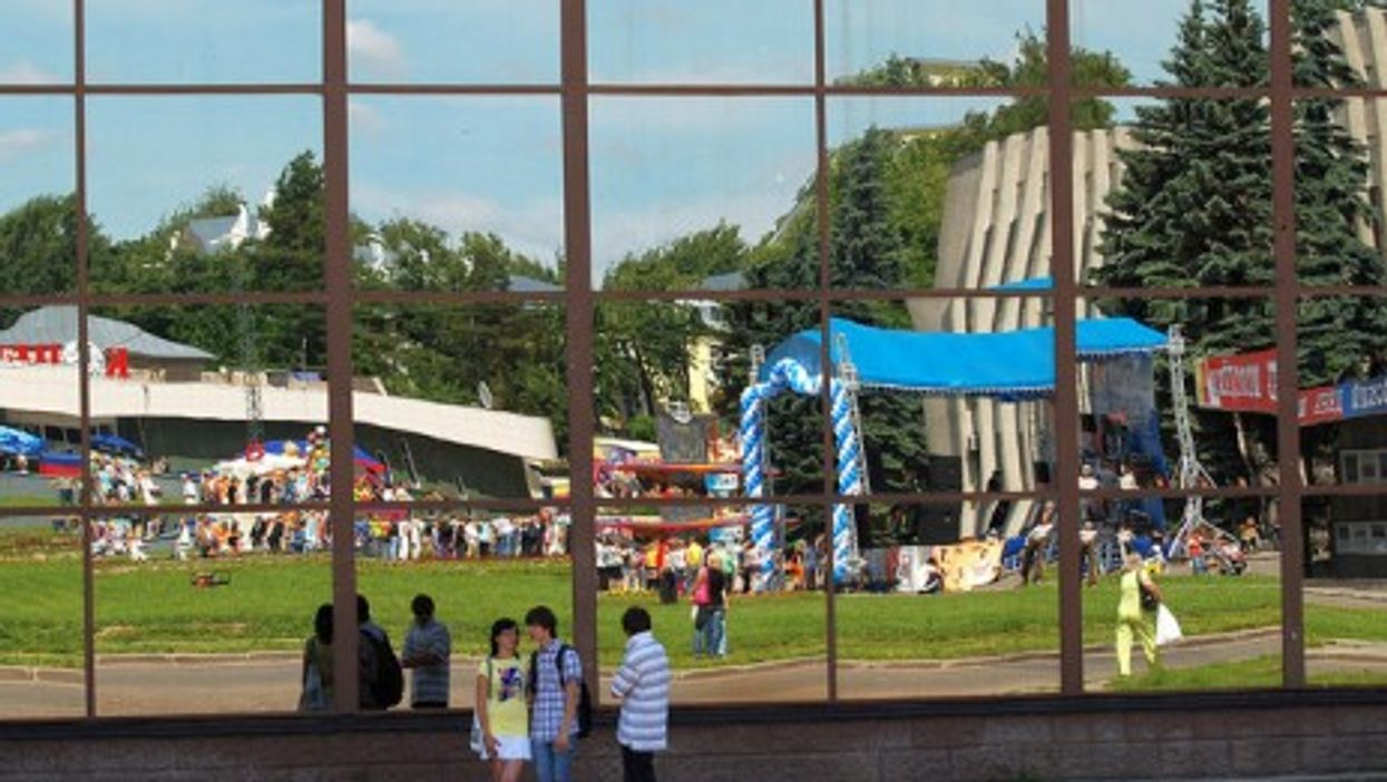 Sergiyev Posad, a well-know tourist destination in Russia (akk_rus)