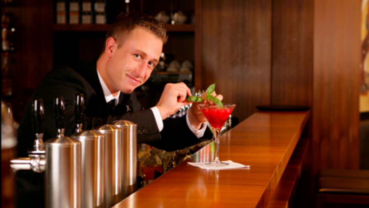 Serving up the charm at the Lutece Bar in Berlin