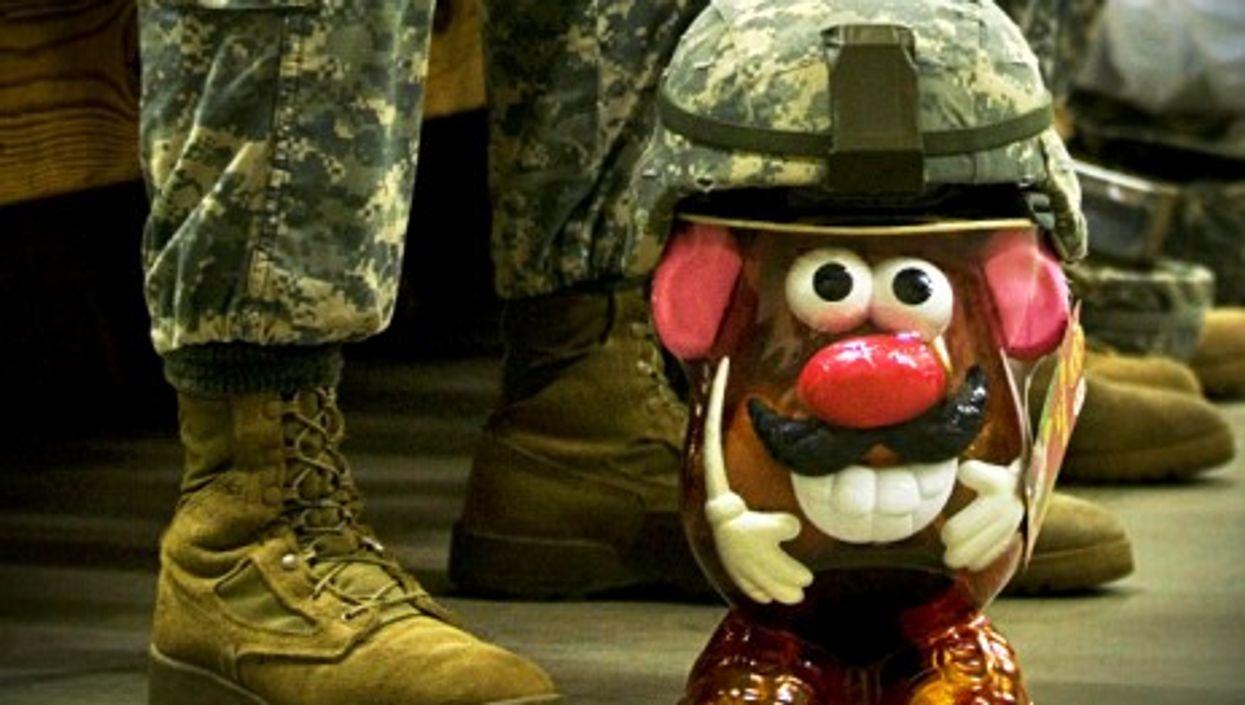 Sgt. Potato Head