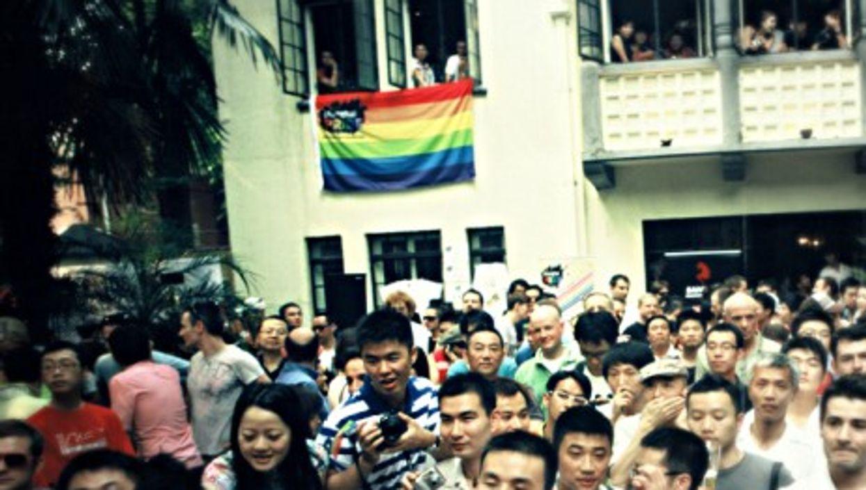 Shanghai LGBT pride 2009