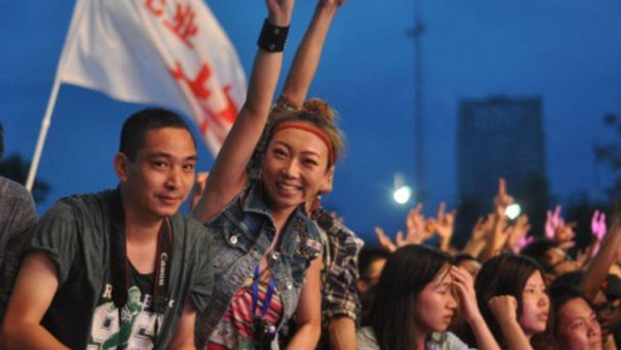 Shenzhen Midi Music Festival in May 2013