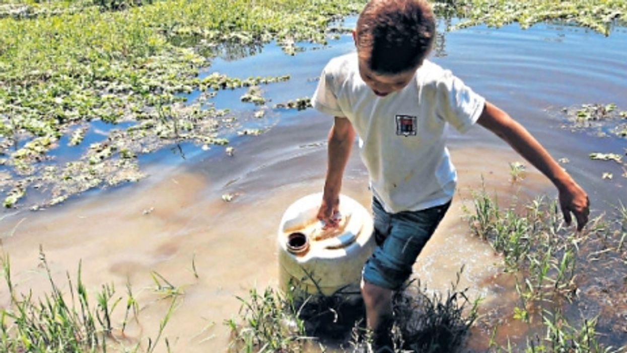 Shortages in clean water are a problem in the region