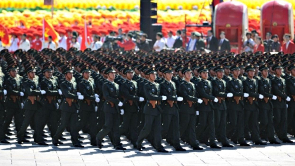 Show of strength in Beijing