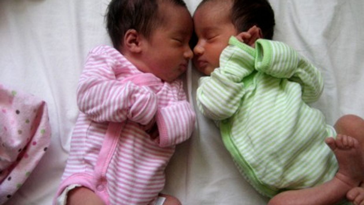 Similarities in separated twins' lives can often be uncanny (Ruth L)