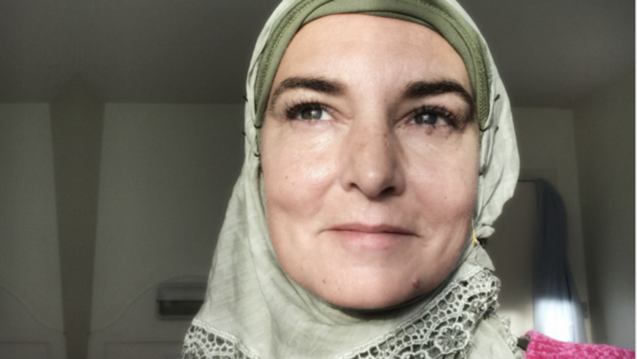 Sinead O'Connor, now known as Shuhada' Davitt