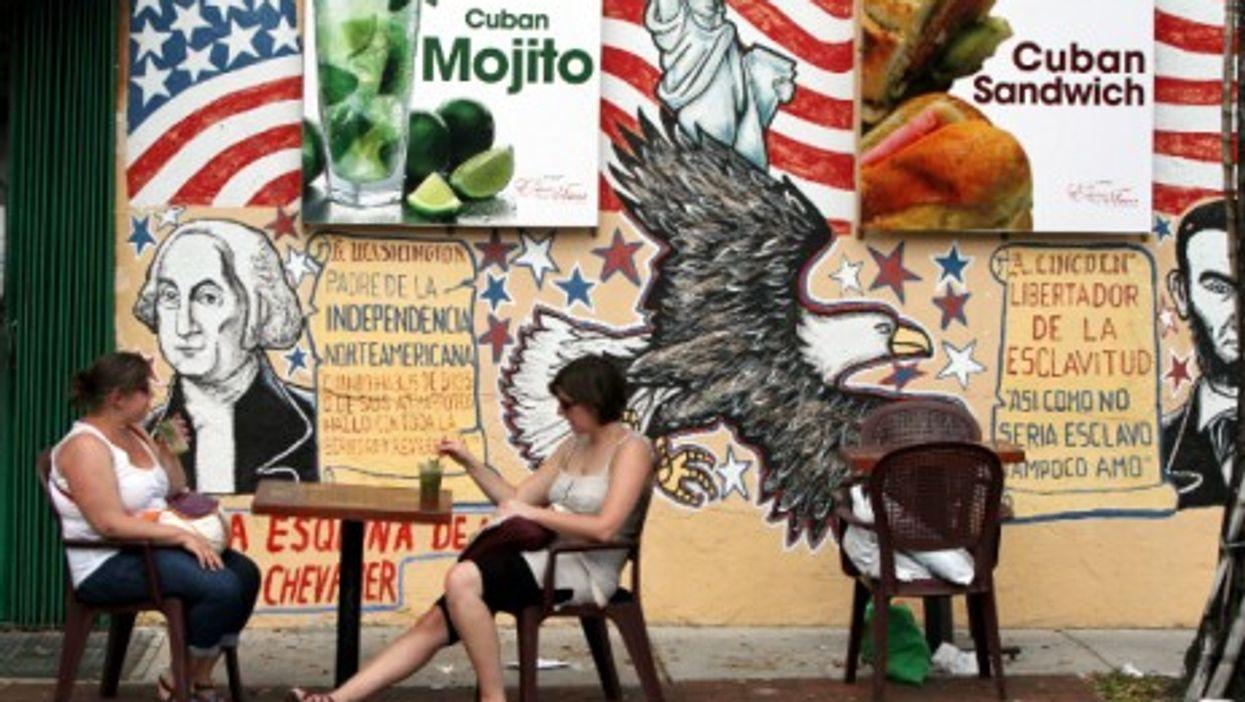 Sipping a mojito in Miami's Little Havana