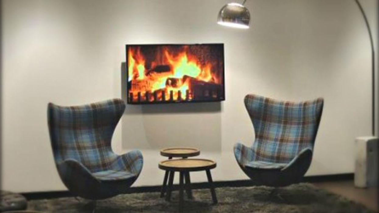 Sit by the virtual fire at the Edinburgh-Royal