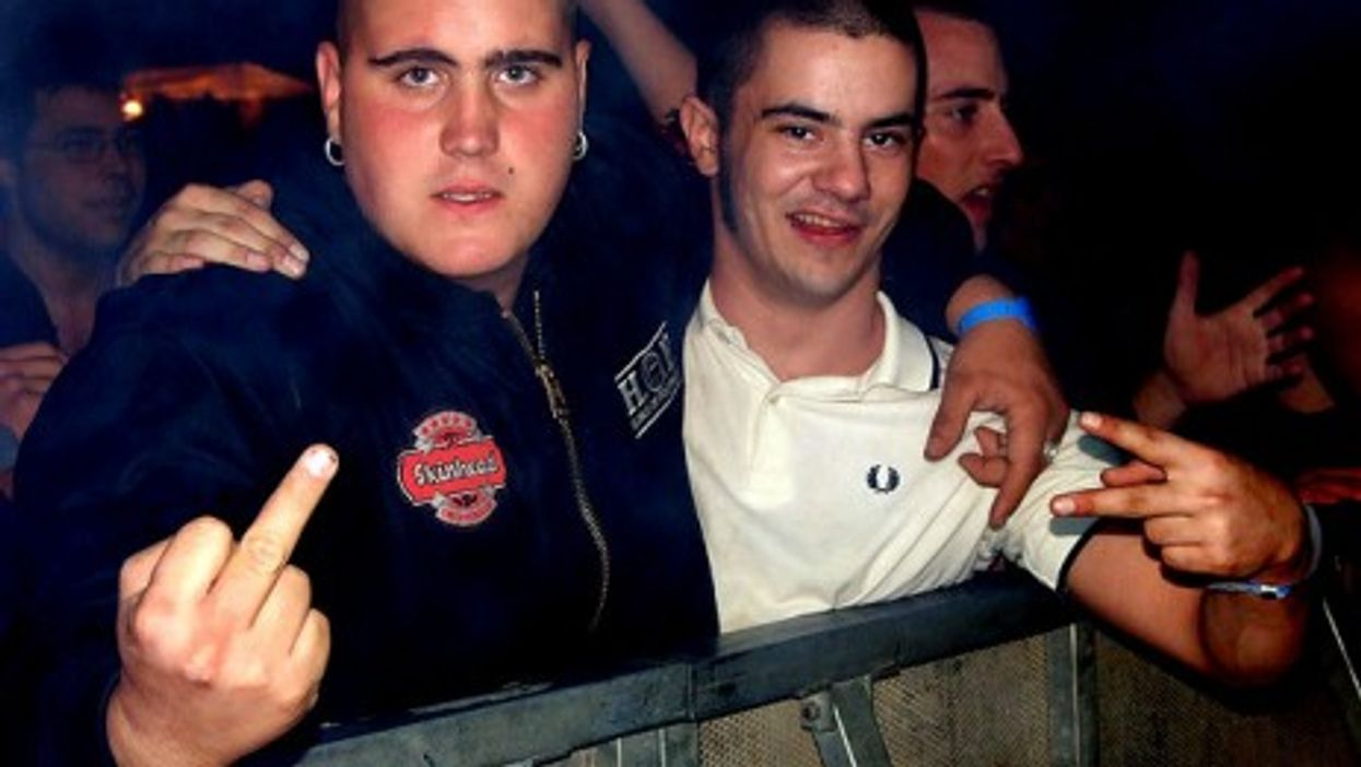 Skinheads in Spain (sancocho.com webzine)