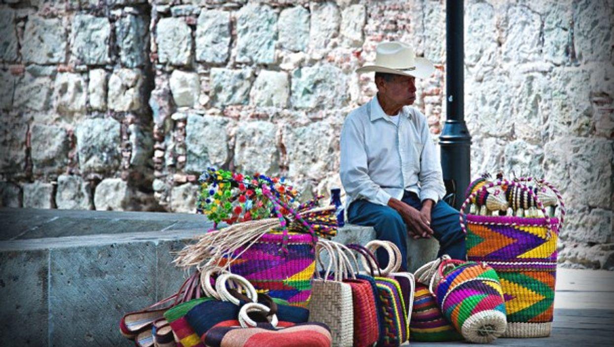 Slow day in Oaxaca