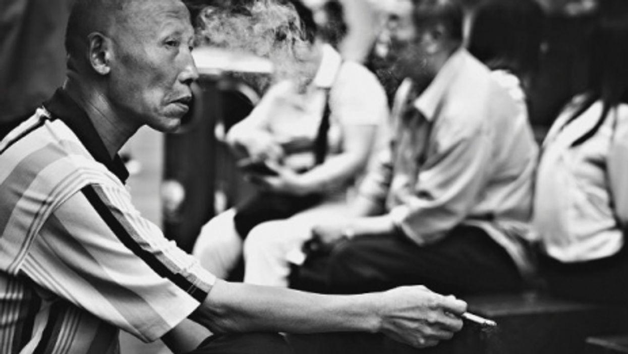 Smoking in Shanghai