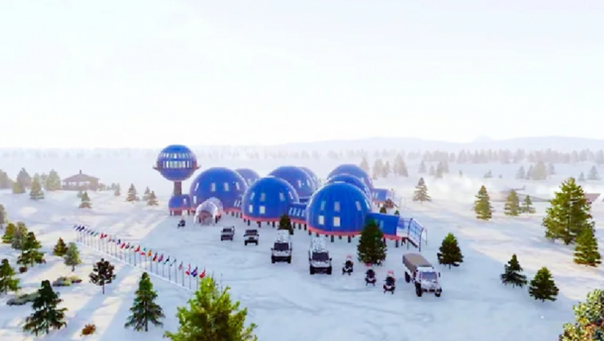 Snowflake, a new generation of artic station