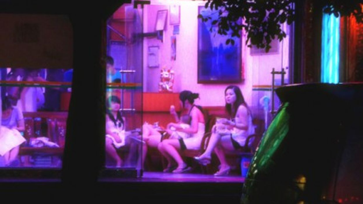"So-called ""barber shop girls"" in Shenzhen"