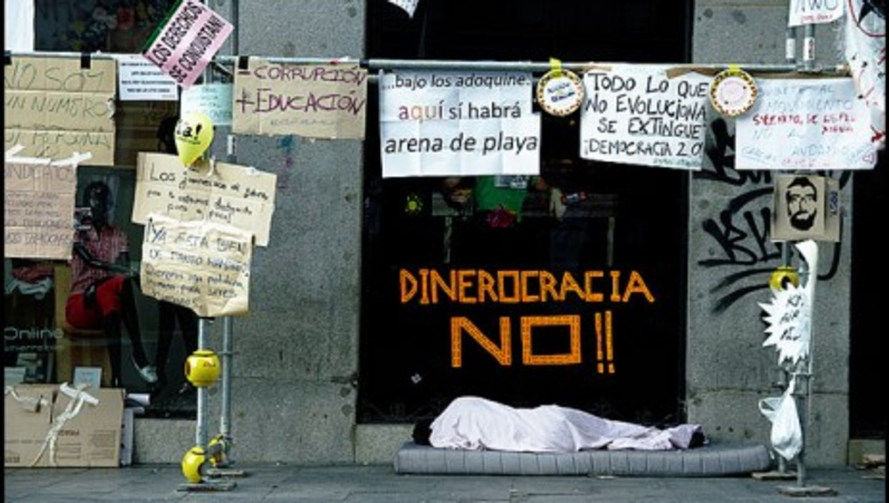 Socialists have now lost their footing in Spain as well (lucas deve)