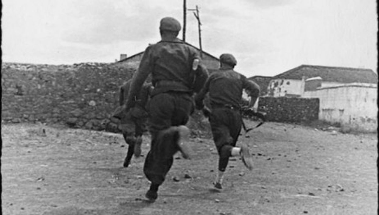 Soldiers during the Spanish Civil War