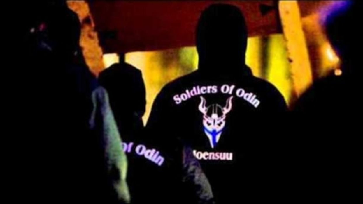 Soldiers of Odin in Finland