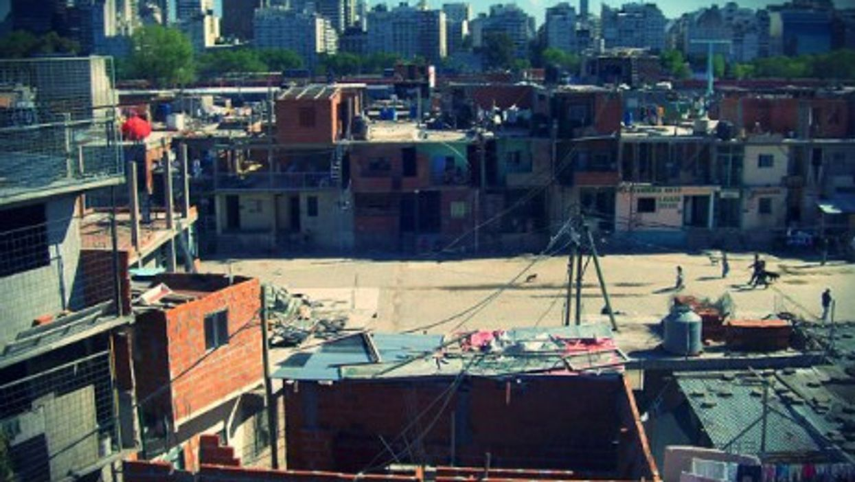 Some 4 million in and around the Argentine capital live in poverty