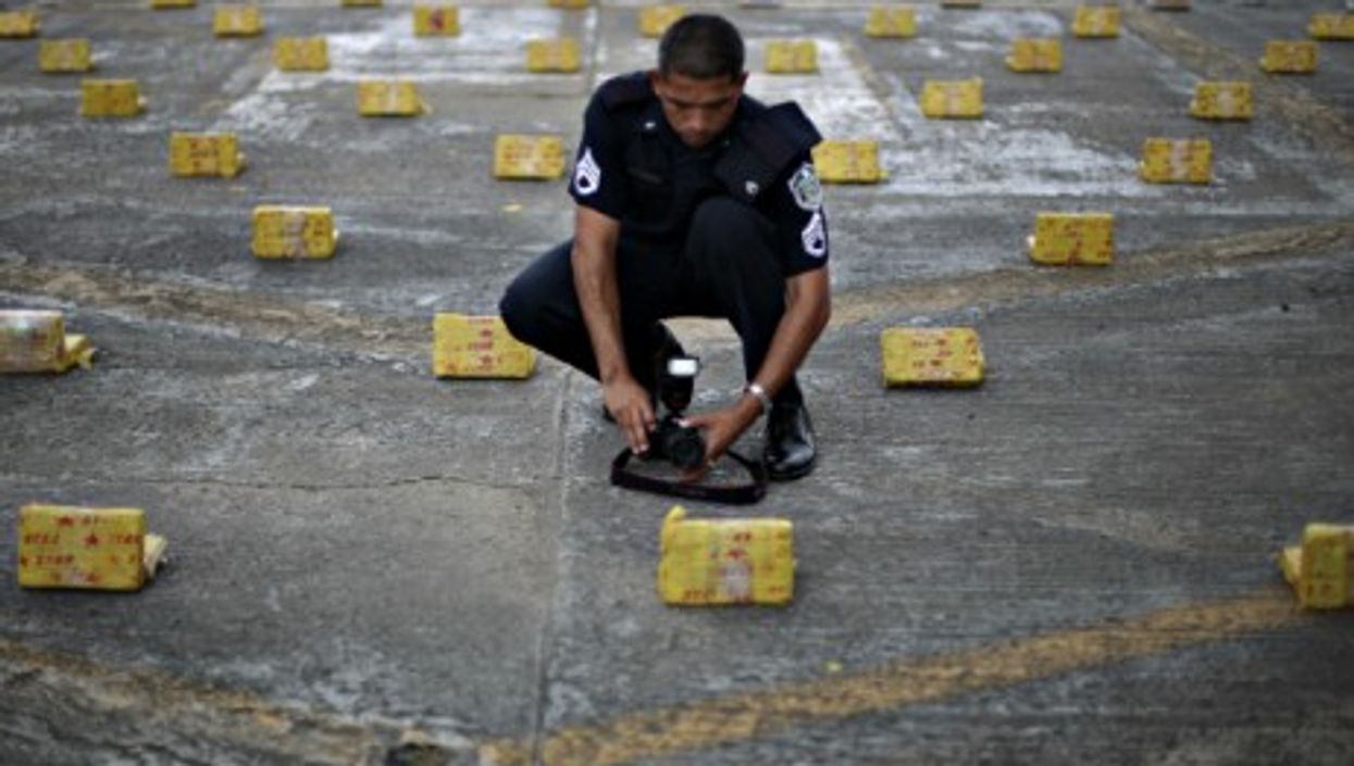 Some 636 kilograms of cocaine were seized Wednesday in Panama