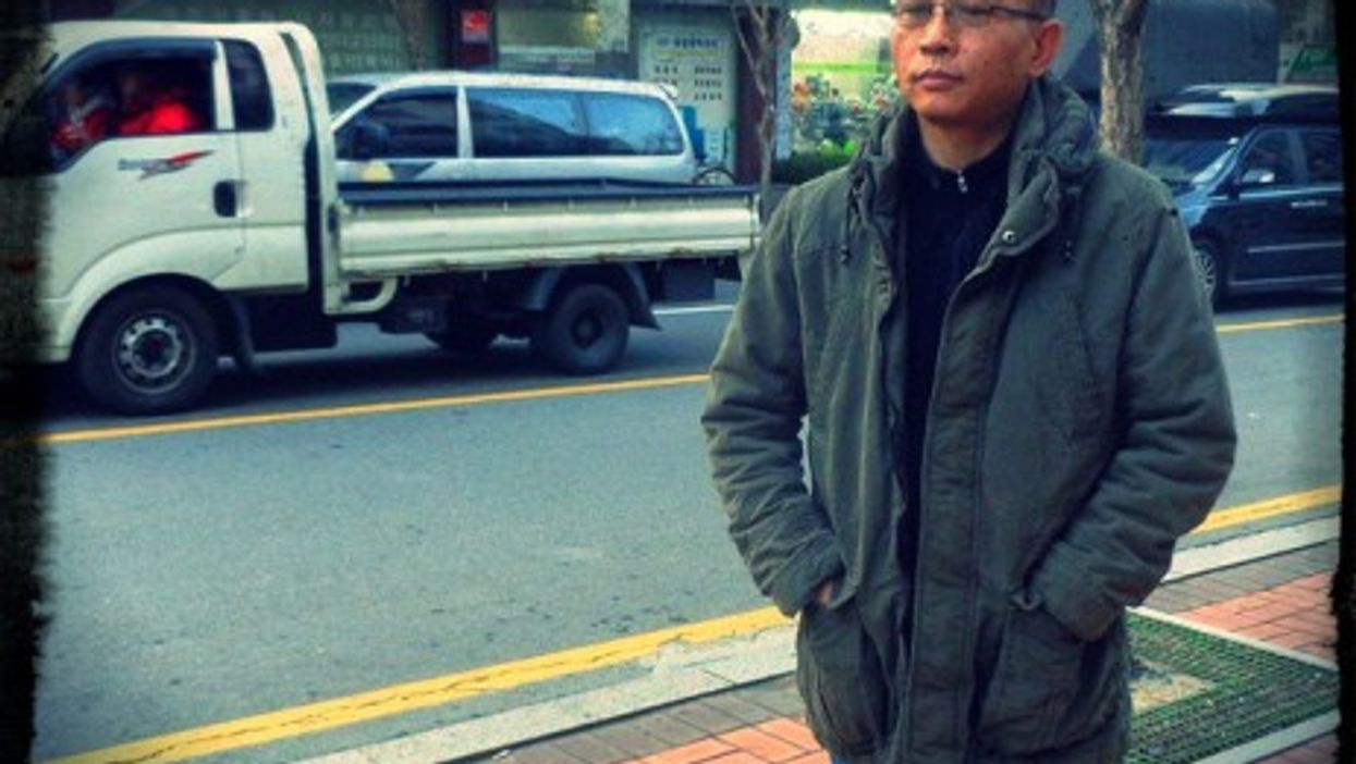 Son Jeong-hun, a North Korean who wants to back home