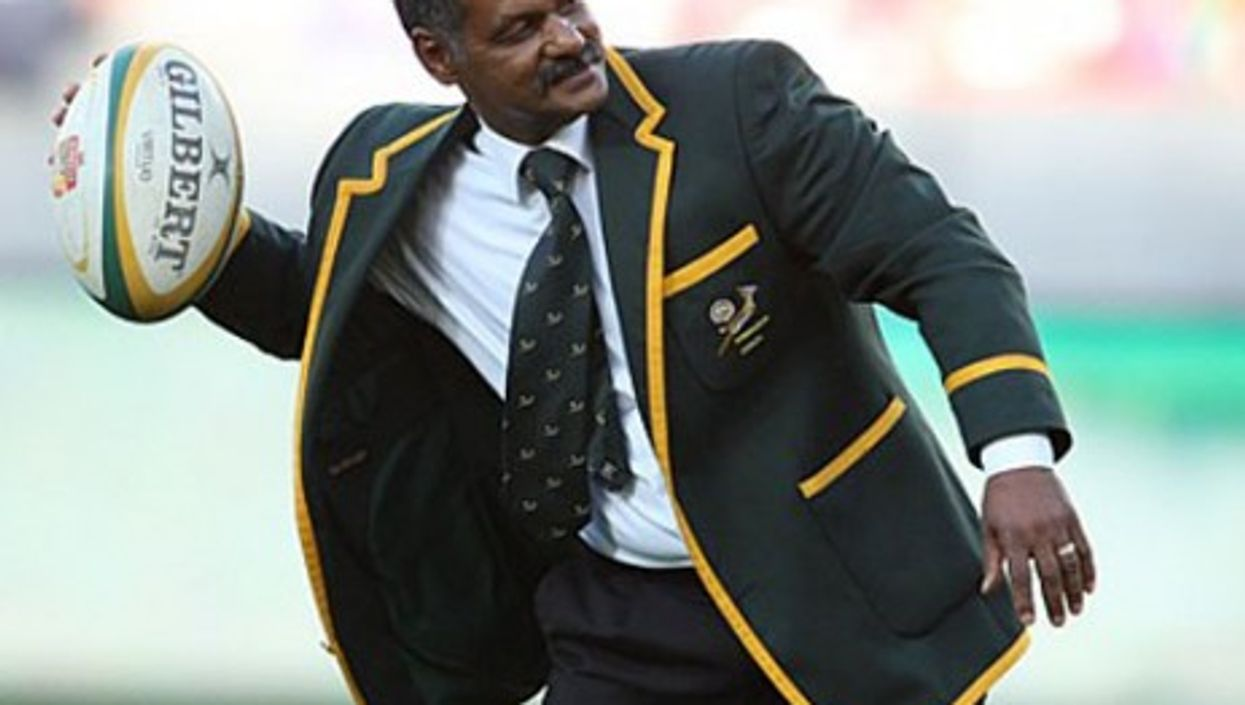 South African rugby coach Peter de Villiers