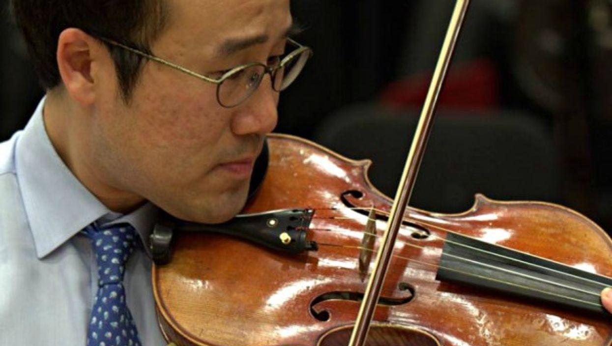South Korean violinist Hyung Joon Won