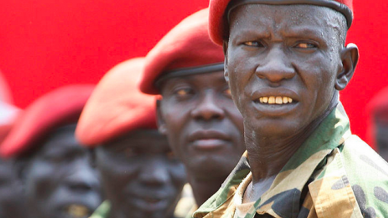 South Sudan's day of independence in 2011