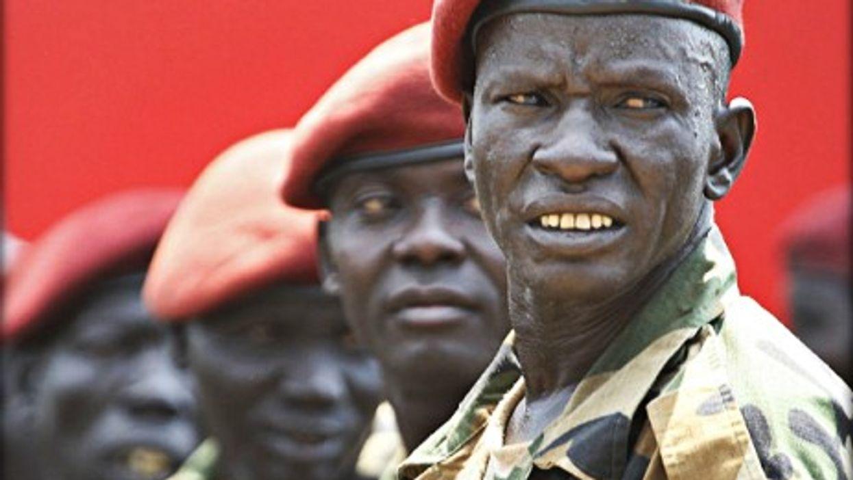 South Sudan's presidential guard