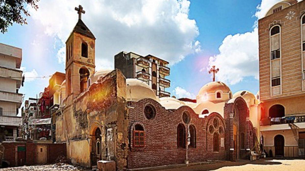 St. Mark Church, Rashid, Egypt