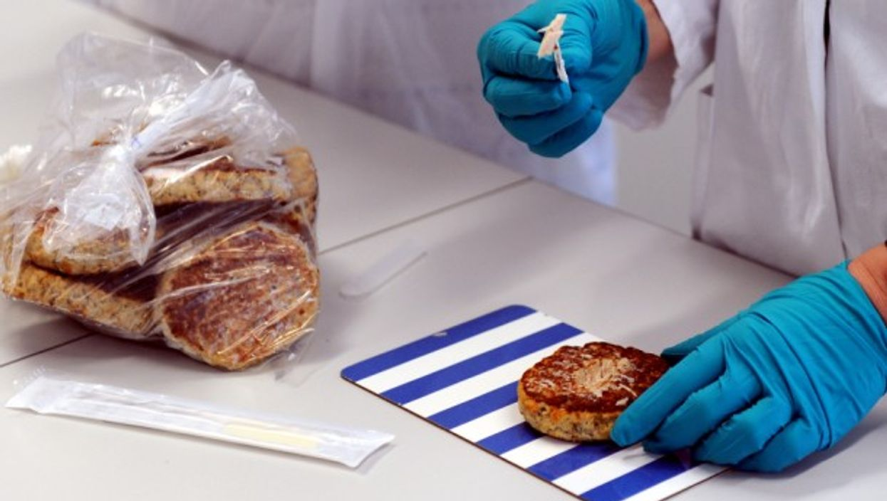 State laboratory food testing in Neumuenster, Germany.