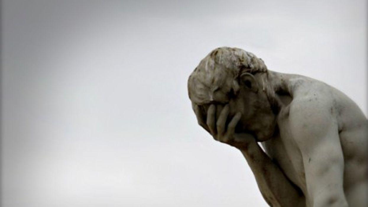 Statue in Paris' Jardin des Tuileries