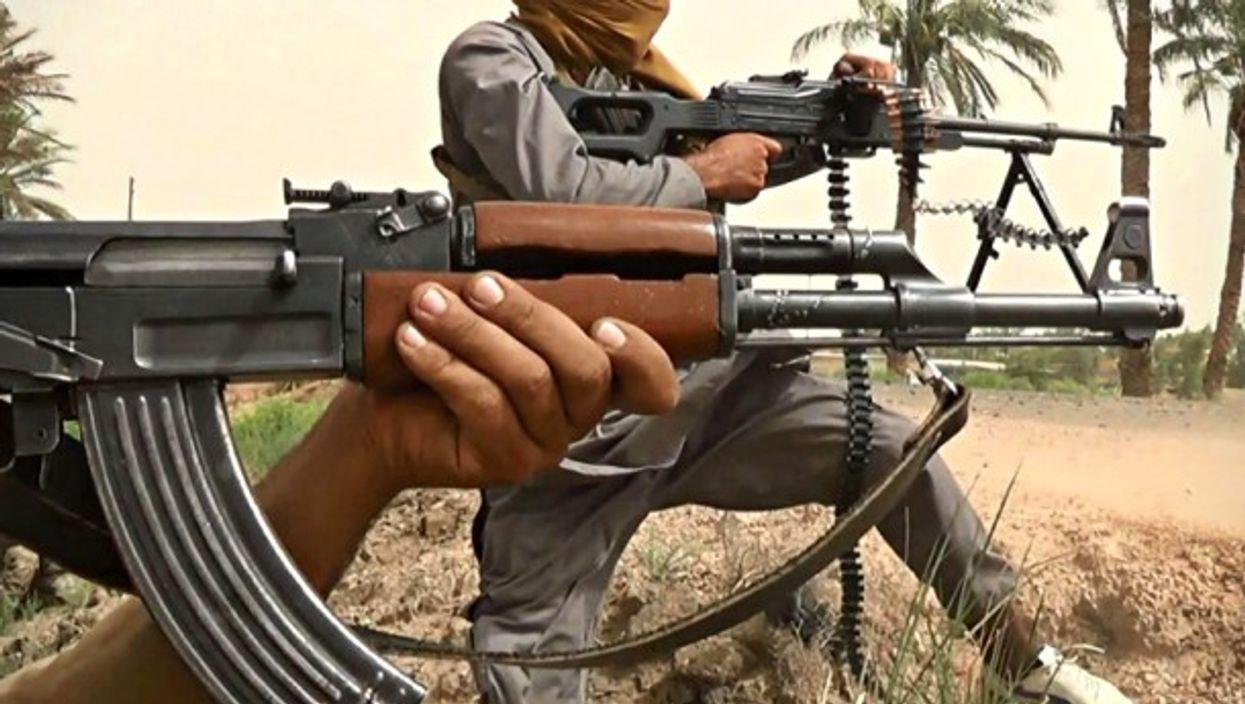 Still image from an ISIS propaganda video