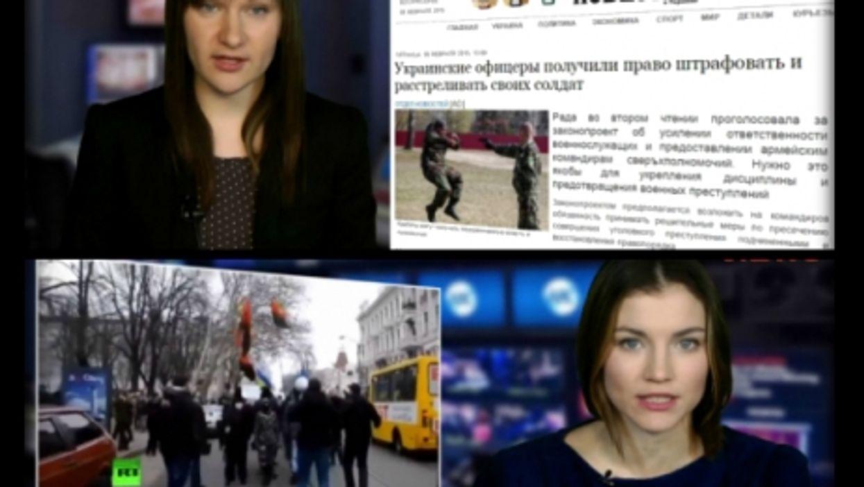 StopFake's Margo Gontar (above) and Alina Sugonyako