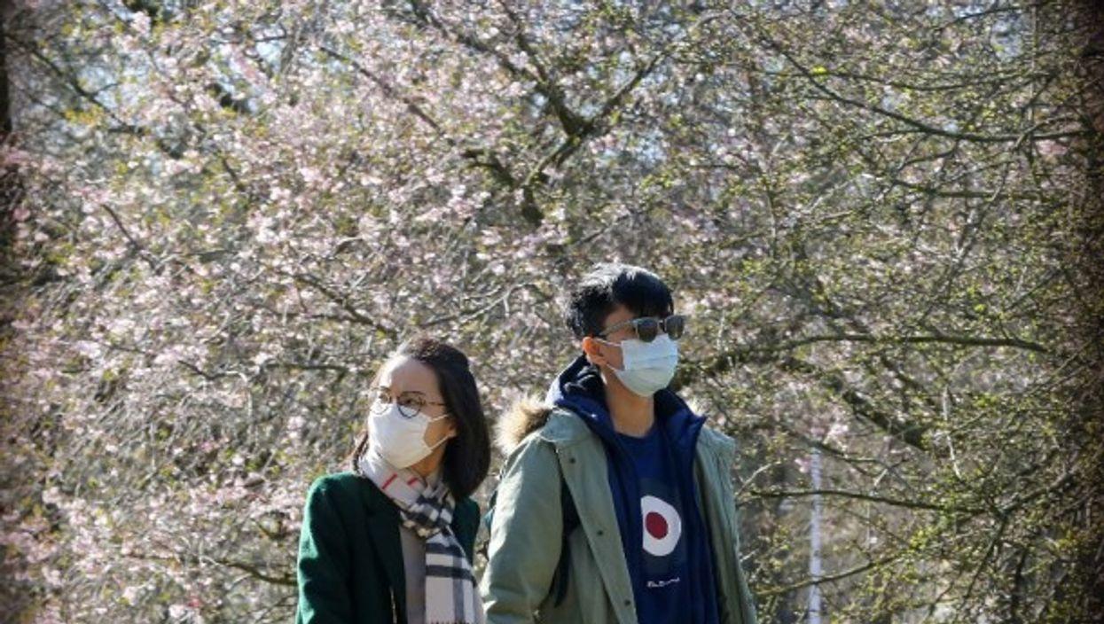 Strange spring love in London