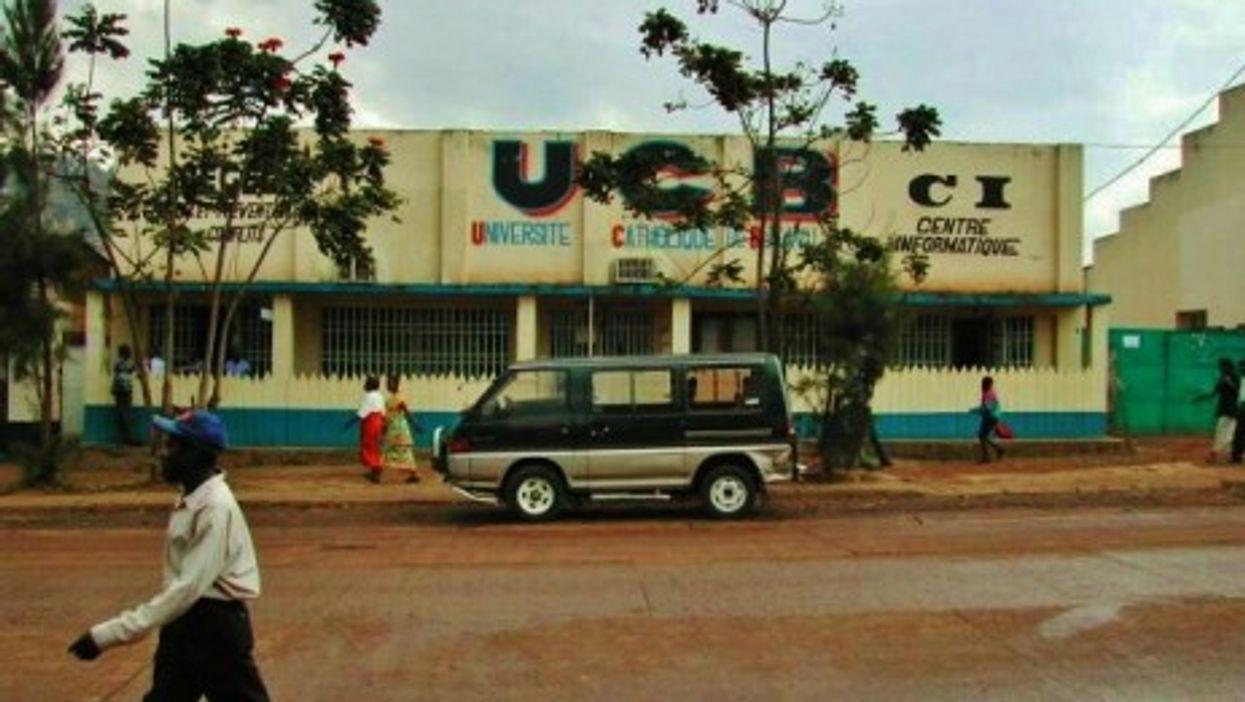 Street Scene In Bukavu - South Kivu