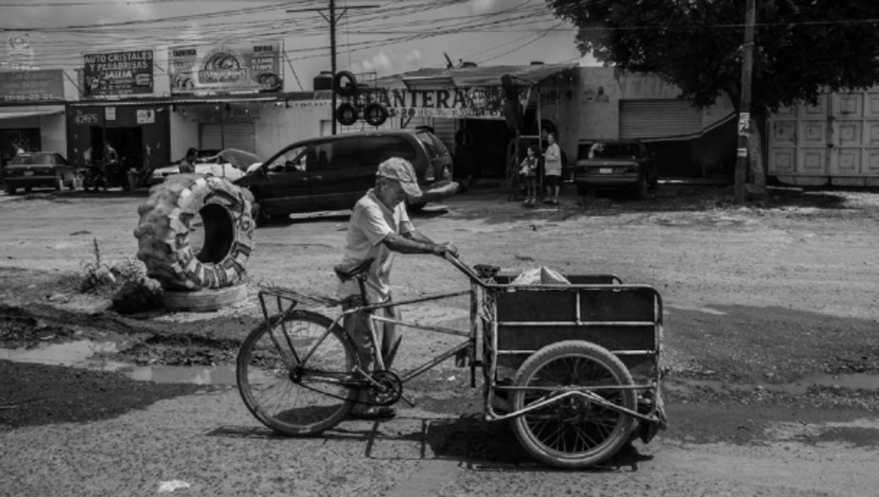 Street scene in Guadalajara, Mexico