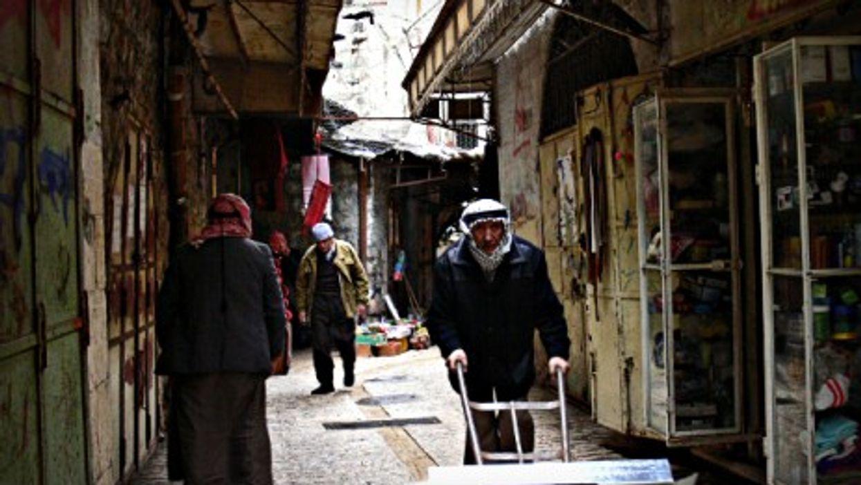 Street scene in Hebron