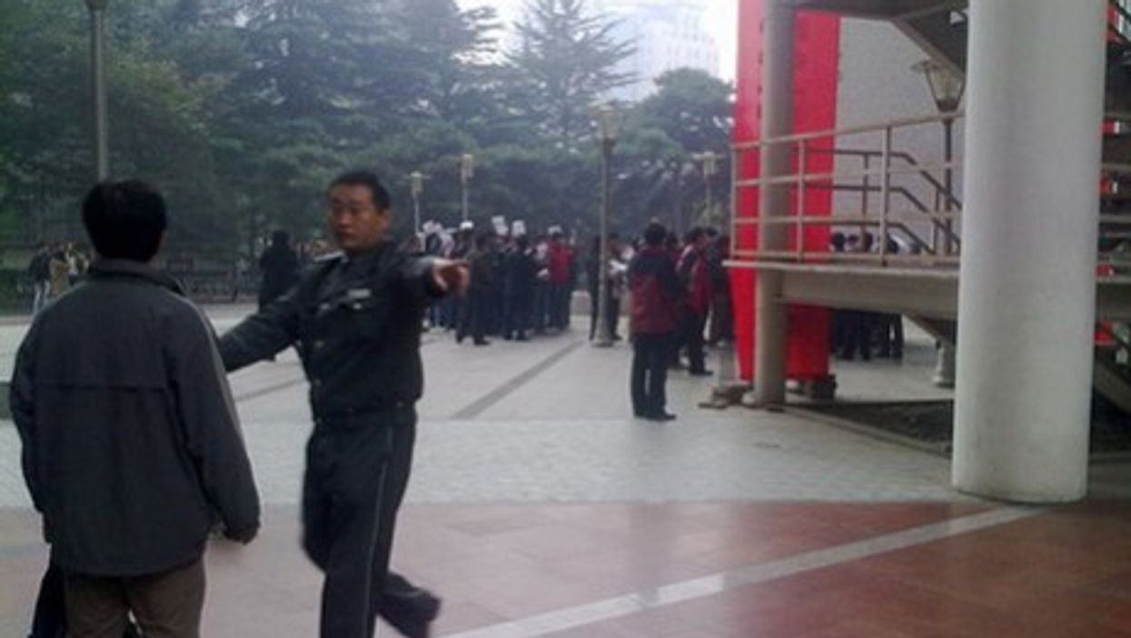 Student protest in Beijing (SFTHQ)
