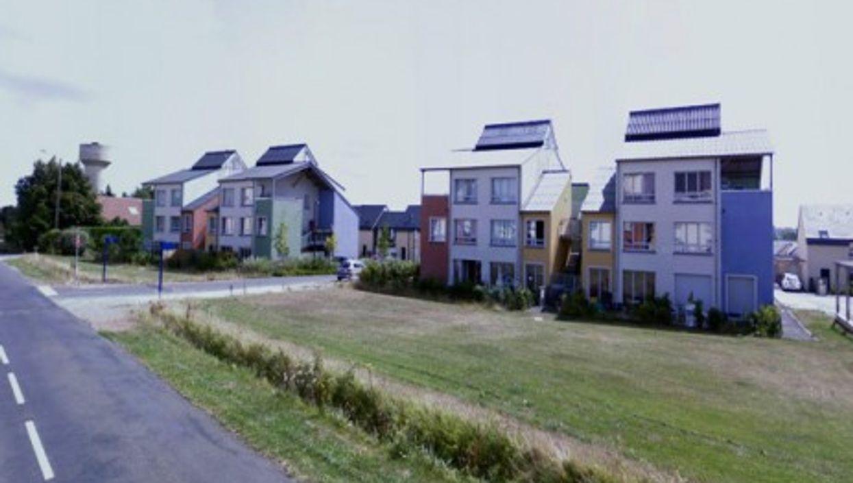 Suburban housing development near Caen in southwest France