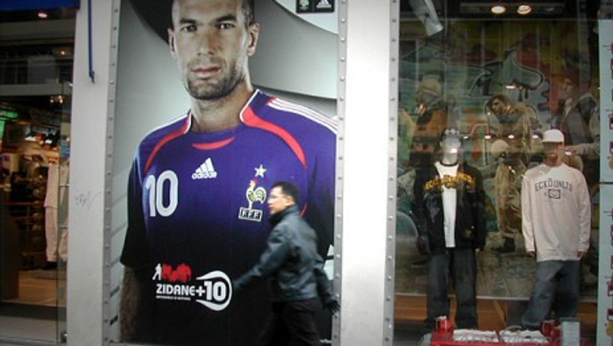 Success for Zidane, son of Algerian immigrants, once fed wider optimism about French multiculturalism. (Stefo)