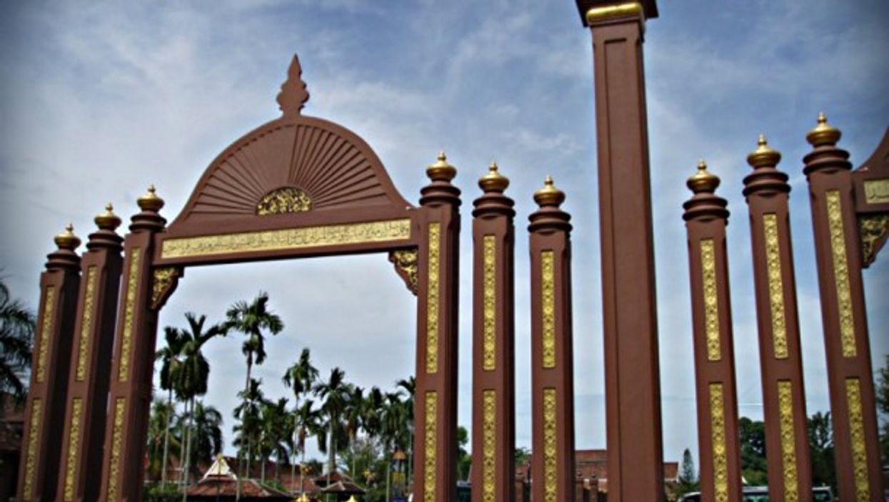 Sultan Ismail Petra Arch, Kota Bharu, Kelantan State, Malaysia