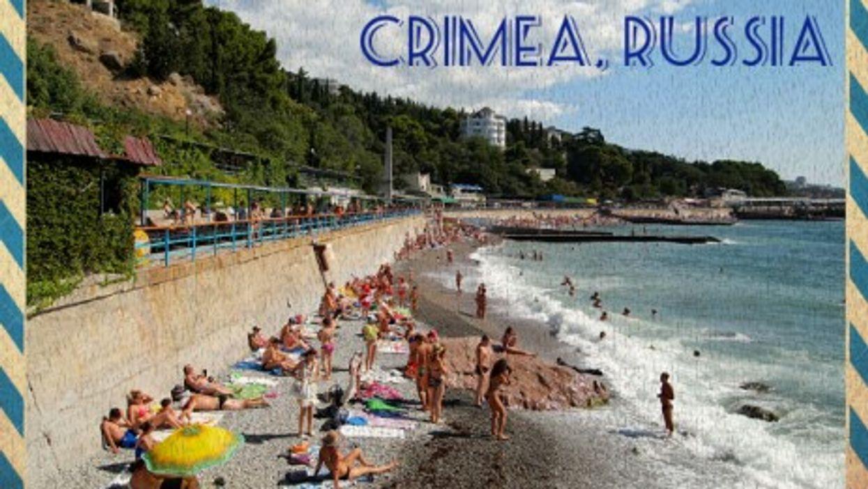 Summertime fun in Crimea