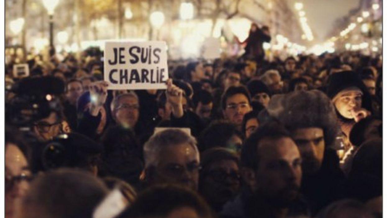 Sunday's demonstration in Paris