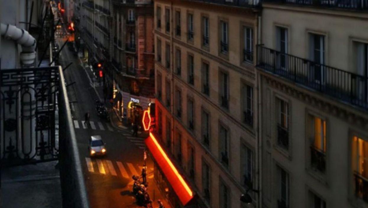 Sunrise over rue de Ponthieu