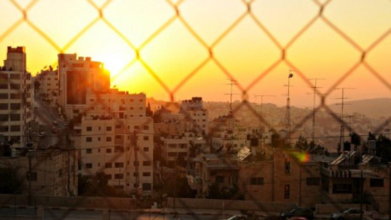 Sunset on Ramallah